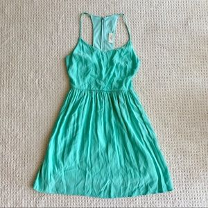 Everly teal dress